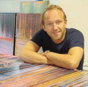 kunstenaar Philippe Van Gele