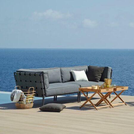 CaneLine conic lounge sofa